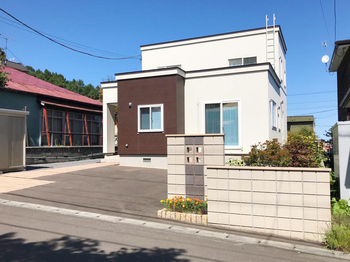 小樽市S様邸-外構・エクステリア工事