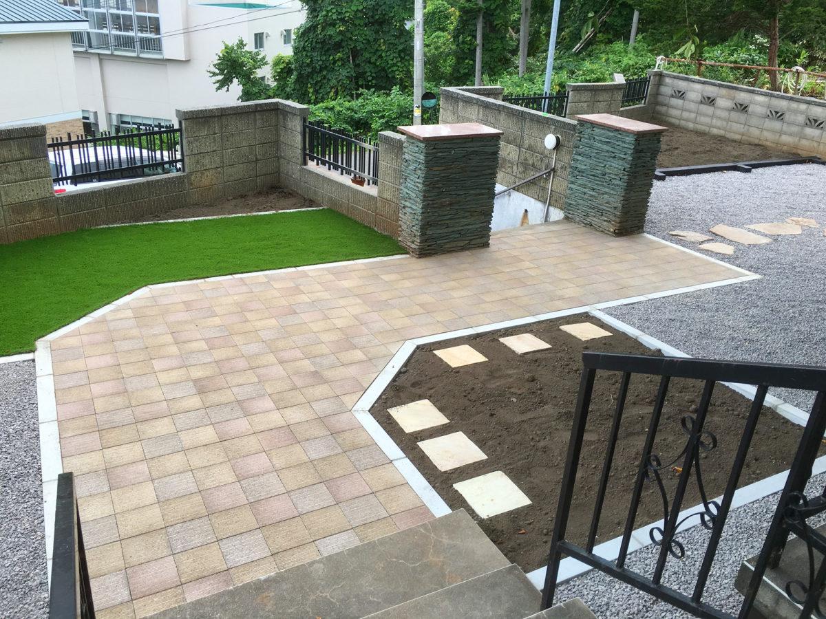 小樽市M様邸-お庭のリフォーム