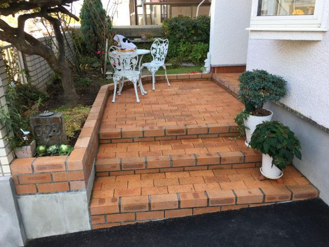 小樽市O様邸-前庭のリフォーム