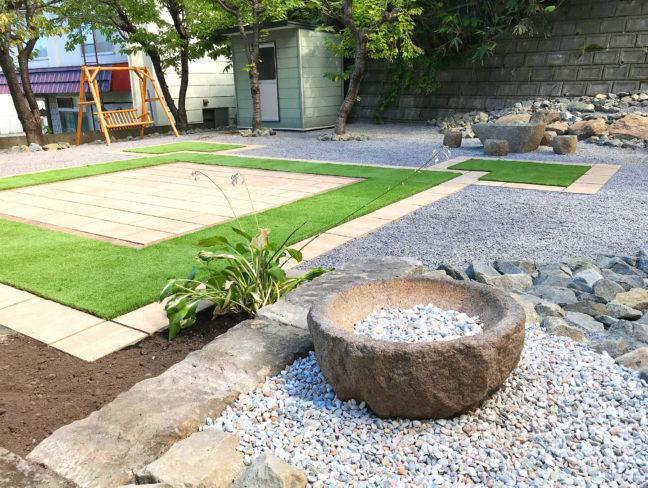 小樽市S様邸-お庭のリフォーム