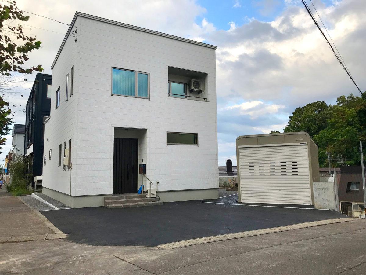 小樽市K様邸-外構・エクステリア工事