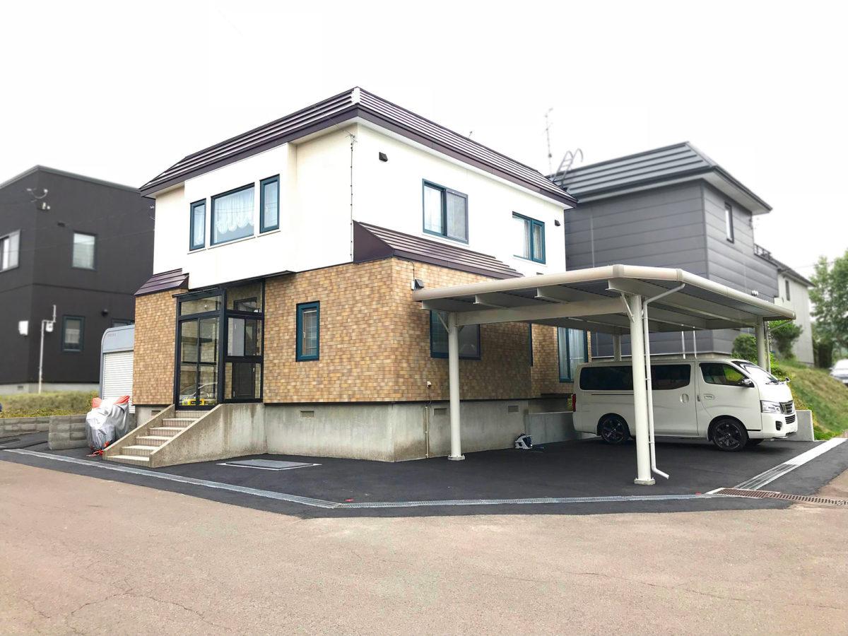 小樽市W様邸-外構・エクステリア工事