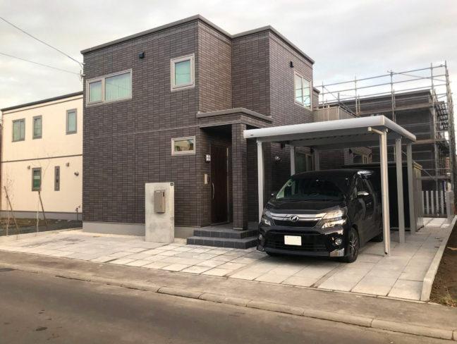 札幌市西区F様邸-外構・エクステリア工事