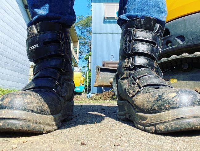 働く男の靴!
