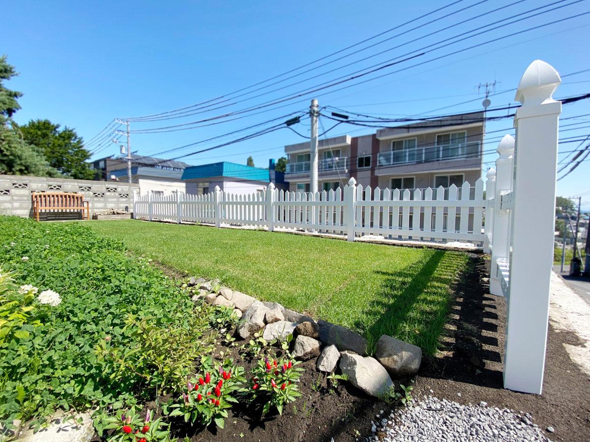 小樽市N様邸-ロイヤルフェンス